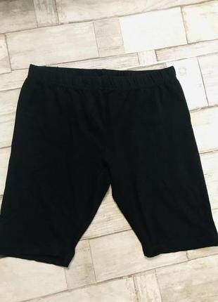 Чёрные шорты на физкультуру