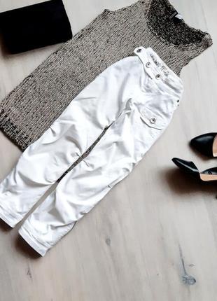Белый брюки zara