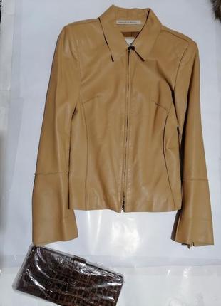 Кожаная куртка sergio mimrani/paris