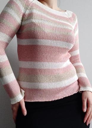 Крутой весенний свитер известного бренда blumarine