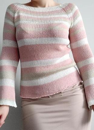 Крутой весенний свитер джемпер известного бренда blumarine