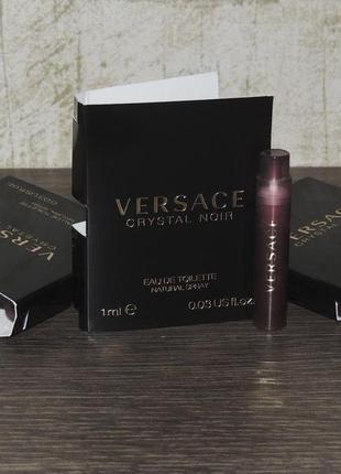 Versace crystal noir 1 мл пробник для женщин оригинал