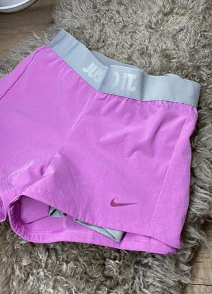 Женские спортивные шорты nike dri-fit just do it оригинал