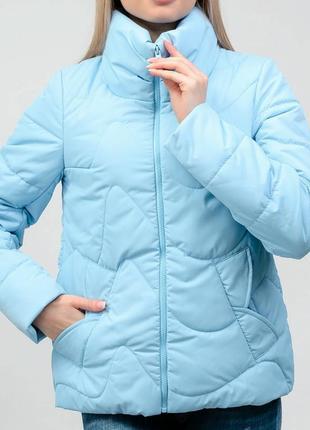 Куртка с интересной спинкой, размер 44