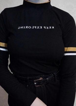 Кофта лонгслив водолазка худи толстовка пуловер