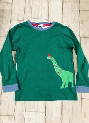 Пижамная кофта с динозавром