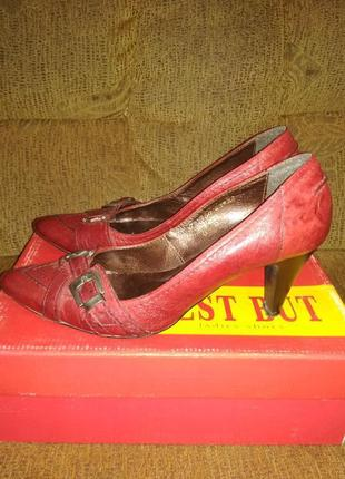 Туфли  полностью  натуральная  кожа  best  but