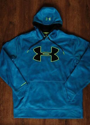 Мужское худи under armour storm fleece big logo hoodie