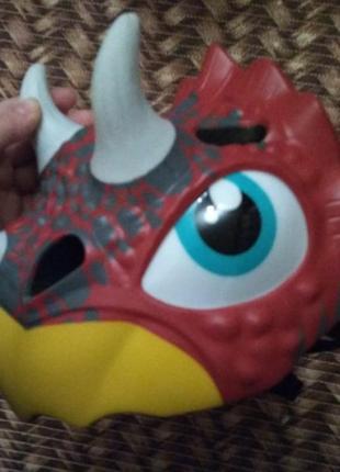 Шлем защита для головы ребенка динозавр