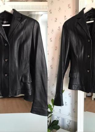 Шикарная натуральная кожаная куртка