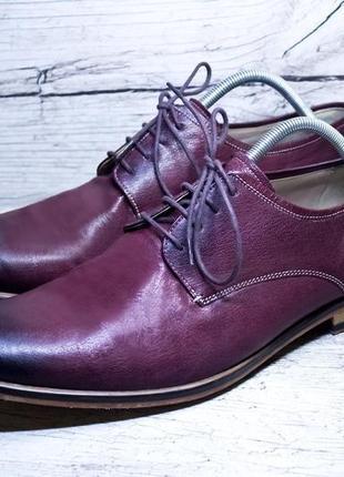 Крутейшие кожанные туфли от marks&spencer3 фото