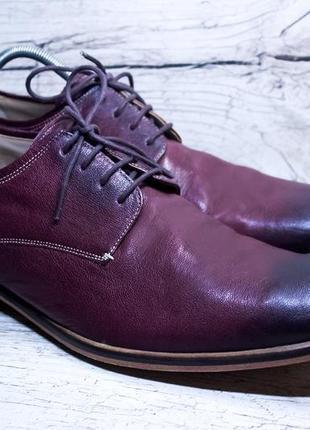 Крутейшие кожанные туфли от marks&spencer