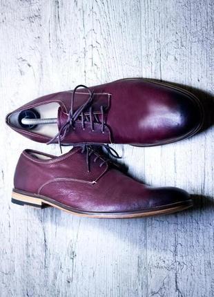 Крутейшие кожанные туфли от marks&spencer2 фото