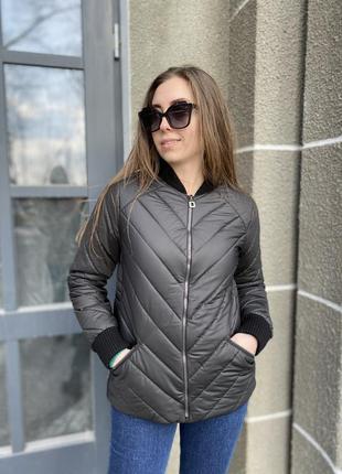 Бомбер утеплённый,куртка демисезонная, весенняя куртка, курточка демисезонная