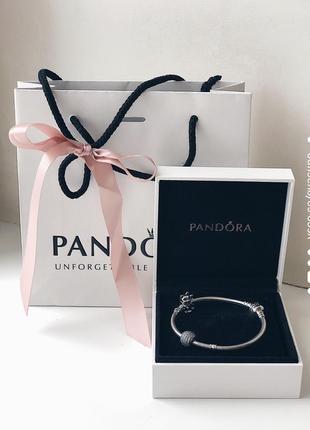 Браслет pandora новый серебро 925 проба