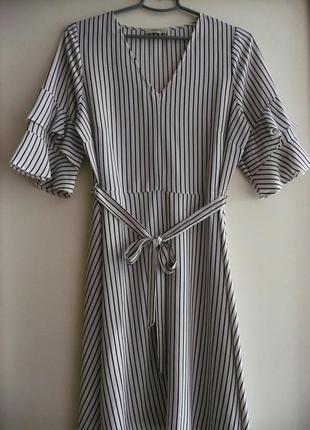 Платье в полоску1 фото