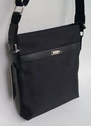 Надежная мужская сумка на плечо