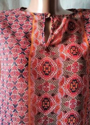 Туніка пряма легка блуза