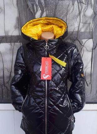 Весенняя молодежная приталенная женская курточка