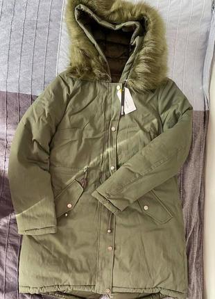 Двухсторонняя куртка -парка terranova s