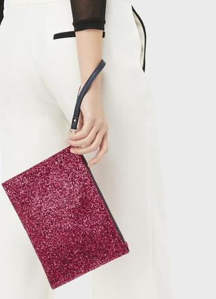 Новый! яркий! красивый клатч accessorize, размер 17,5х24см