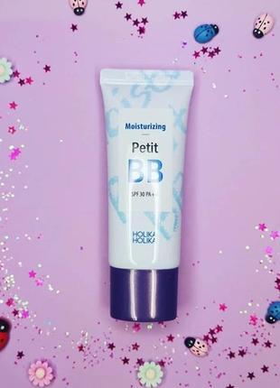 Вв крем от корейского бренда holika holika moisturizing petit bb cream