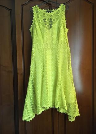 Вечернее выпускное платье миди marks & spencer