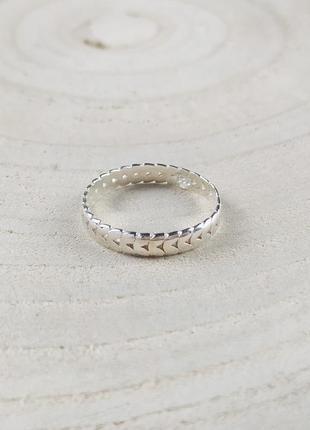 Серебряное кольцо asos