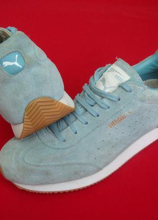 Кроссовки puma blue натур замша оригинал 40-41 размер