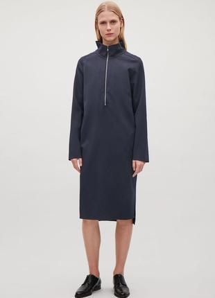 Шерстяное платье cos 583336