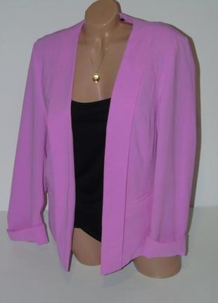 Красивый пиджак без застежек atmosphere