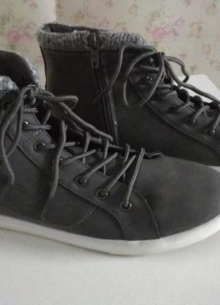 Демисезонные ботинки бренда blue motion3 фото