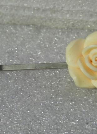 Заколка цветок