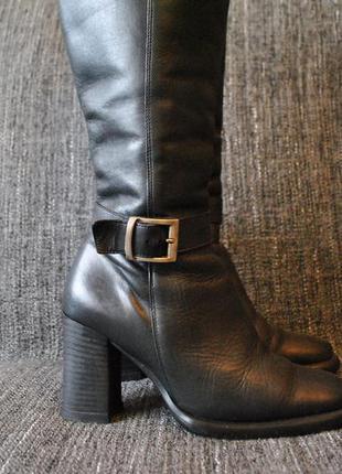 Итальянские сапоги женские 37. 5-38 натуральная кожа еврозима Италия ... 6067458dccd