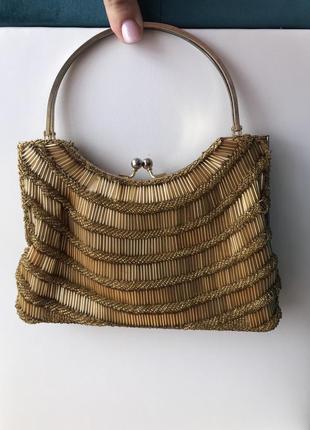 Вечерняя сумочка с бисером