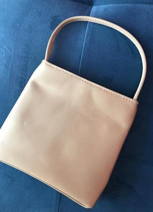 Золотой клатч-сумка