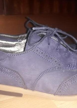 Туфли замшивые