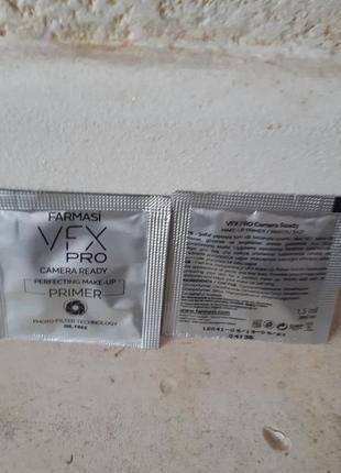 Сашет прозрачная праймер основа под макияж vfx pro camera ready фармаси