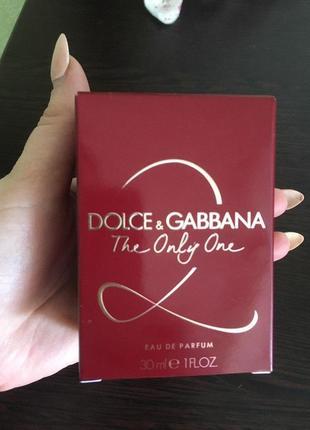 Парфюм dolce & gabbana the only one 2 edp 30 ml