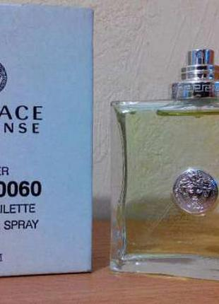 Versace versense edt 100мл тестер оригинал
