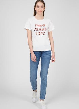 Женские синие джинсыpepe jeans