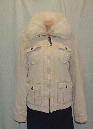 Велюровая куртка-пиджак