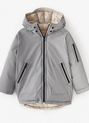 Двухстороняя куртка куртка zara 140