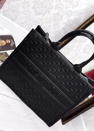 Сумка женская шоппер черный цвет5 фото
