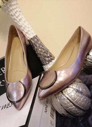 Туфли лодочки кожаные naturalizer