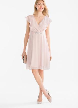 Нарядное шифоновое платье cunda