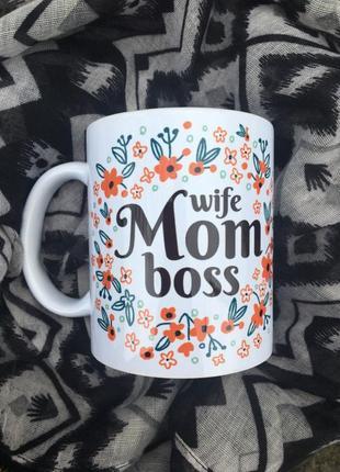 Чашка для мами☺️