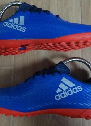 Кроссовки adidas x 16.4 tf jr football shoe - ba8294  размер 38 2\3
