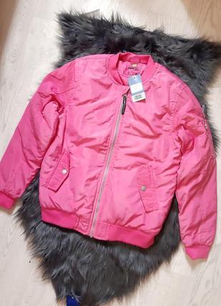 Демисезонная куртка pepperts розовая