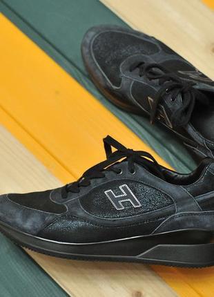 Жіночі кросівки hogan suede sneakers - 38 - 25 см